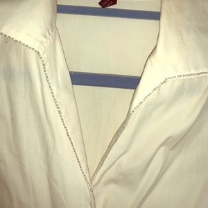 Beautiful white embroiled blouse.